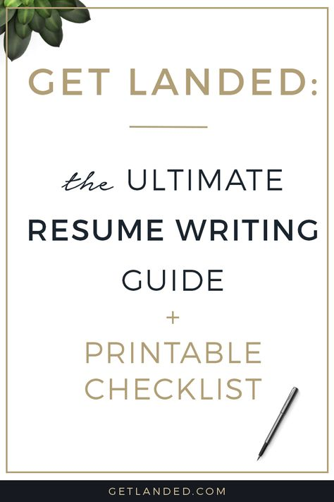 All the best resume writing tips in one place The ultimate resume - resume writing business