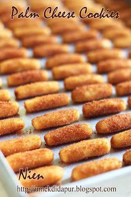 Umek Di Dapur Palm Cheese Cookies Resep Biskuit Kue Kering Mentega Makanan Manis