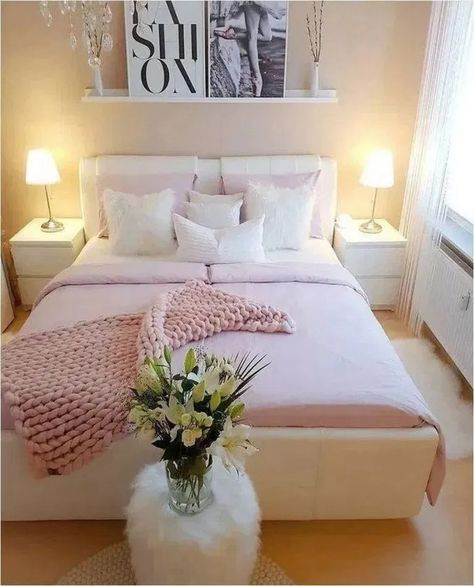 15+ pretty pink bedroom ideas for your lovely daughter < homehari's #bedroom #bedroomideas #bedroomdecor