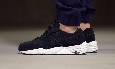 Puma Trinomic R698 Allover Suede Black