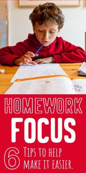 How To Focus On Homework Learn The Skills Of Focused Studying Kids Focus Kids Homework Homework
