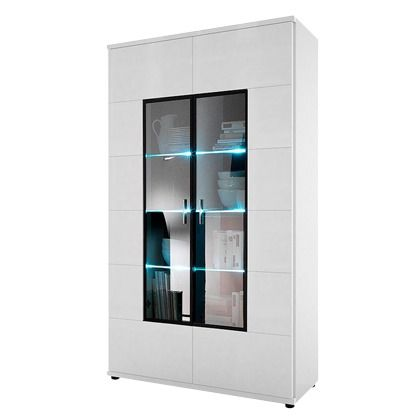 Vitrine Modern. Belmont H Vitrine Display Cabinet Glass Doors ...