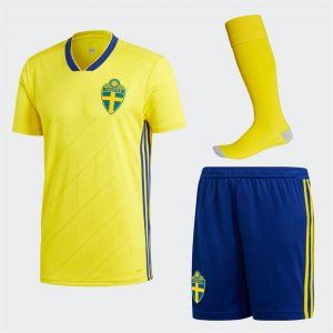 2018 World Cup Kit Sweden Home Replica Yellow Full Suit Bfc494 World Cup Kits Wales Football Shirt Yellow Suit