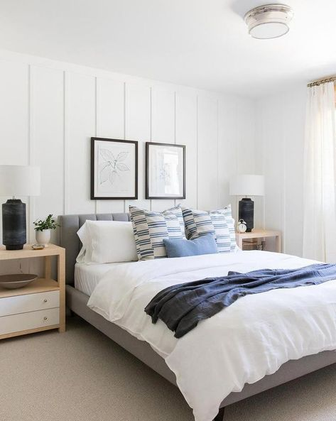 You can decorate guest bedrooms without neglecting their cosy sides. A guest bedroom can still look stylish. We have 30 cosy guest bedroom ideas in the . Read Cozy Guest Bedroom Ideas 2020 (For Your Inspiration) Farm Bedroom, White Bedroom, Home Decor Bedroom, Bedroom Ideas, Bedroom Designs, Single Bedroom, Kids Bedroom, Bedroom 2018, Couple Bedroom