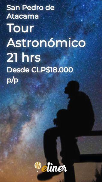 Tour Astronómico San Pedro de Atacama | Contaminación lumínica, Desierto de  atacama, El mejor lugar del mundo