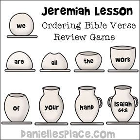 potter and clay color sheet bible craft for sunday school random pinterest bible crafts color sheets and sunday school - Isaiah 64 8 Coloring Page