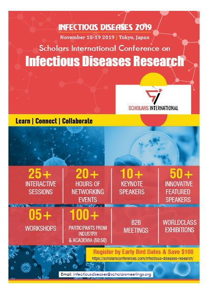 Scholars International Conference On Infectious Diseases Research