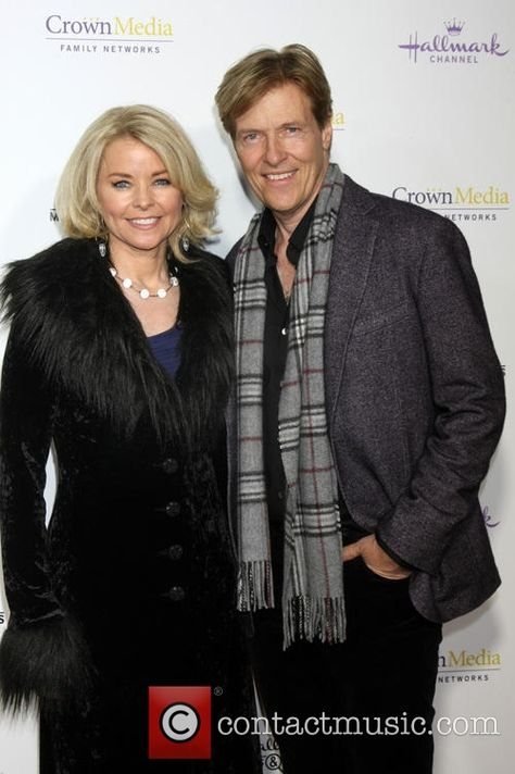Picture - Kristina Wagner and Jack Wagner at Tournament House .