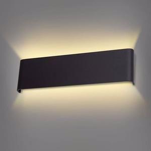 Wowatt Applique Murale Interieur Led Noir 12w Lampe Murale Blanc Chaud 2800k Moderne Design Pr Chambre Salon Escalier Cou In 2020 Sconces Indoor Wall Lamp Wall Sconces
