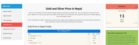 Gold And Silver Price In Nepal Today Gold Price Today In Nepal Silver Price In Nepal Silver Prices Today Gold Price Gold Price