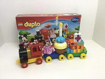 Lego Duplo 10597 Mickey Minnie Mouse Birthday Parade Train Set Box Affilink Lego Legolot Legos Legobulk Legoset Lego Duplo Toy Car Toy Chest