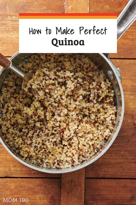 How to Cook Perfect Quinoa on the Stove — The Mom 100