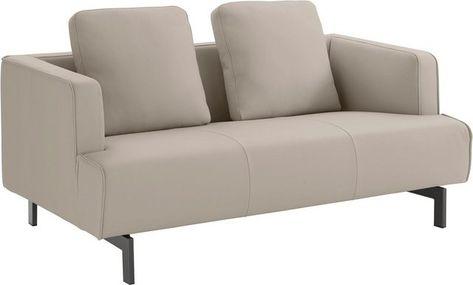 Hulsta Sofa 2 Sitzer Hs 440 Wahlweise In Stoff Oder Leder Spangenfusse Umbragrau Online Kaufen Hulsta Sofa Haus Deko Sofa