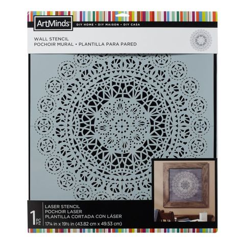 Diy Home Lace Wall Stencil By Artminds Michaels Stencils
