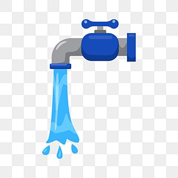 Faucet Vector Illustration Draw In Flat Design Water Vector Faucet Png And Vector With Transparent Background For Free Download Cartoon Design Vector Illustration Design