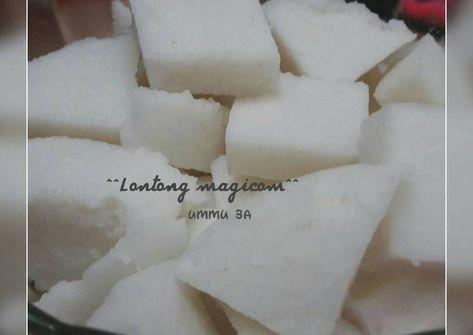 Resep Lontong Magic Com Oleh Dapoer Ummu4a Liyanify Resep Resep Masakan Asia Resep Resep Makanan Asia