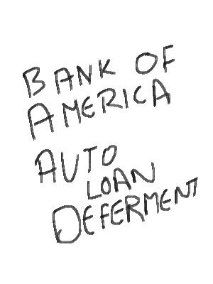 Bank Of America Is Now Letting The Customers To Defer The Auto Loan Payments Because Of The Financial Crisis All Car Loans Car Loan Calculator Loan Calculator