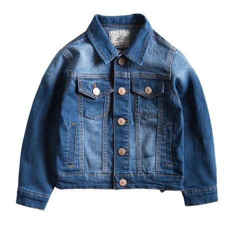 bf3fe16f8 Zhuhaitf Dark blue Kids Long Sleeves Outwear Boys Fashion Denim Jacket  JDX1803. Fashion Denim Jacket. Button fastening. Classic kids jacket.