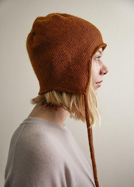 Top-Down Ear Flap Hat pattern by Purl Soho | hats | Flap hat