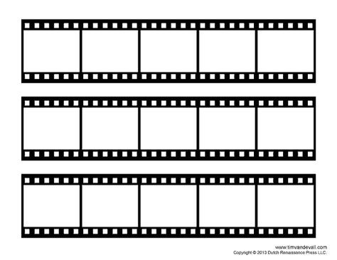 Film Strip Template Photo Collage Template Film Strip Collage Template