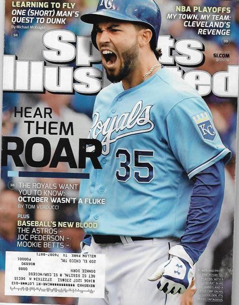 Si June 1 2015 Hear Them Roar Kc Royals Kc Royals Baseball Sports Illustrated Covers Kc Royals