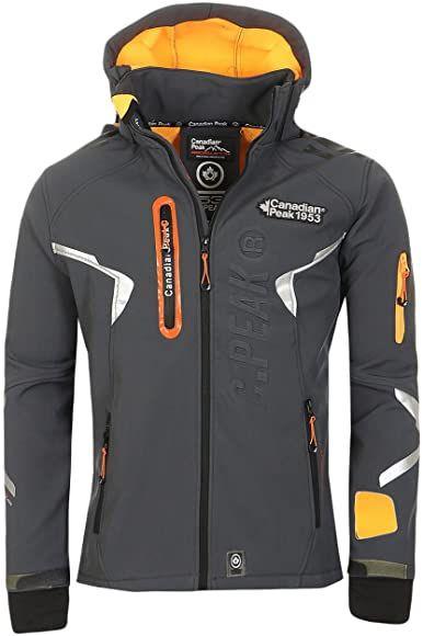 Geographical Norway Canadian Peak Transatlantic By Herren D Grau S Amazon De Bekleidung In 2020 Manner Outfit Softshell Jacke Jacken
