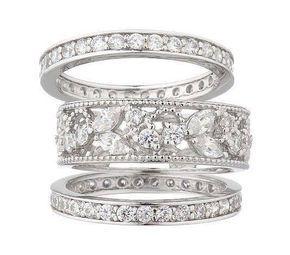 ".14ct F VS2 14kt White Gold Triangle Trendy Diamond Pendant 18/"" Necklace"