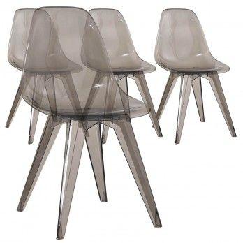 Chaise De Bureau Haute De Cuisine Ou Pour La Salle A Manger Menzzo Chaise Chaise Bureau 4 Chaises