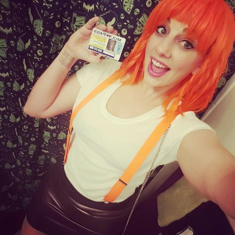 Character Leeloo From Fifth Element Movie Event Megacon  Dallas Photography Robbins Studios Cosplay By Mel The Fif