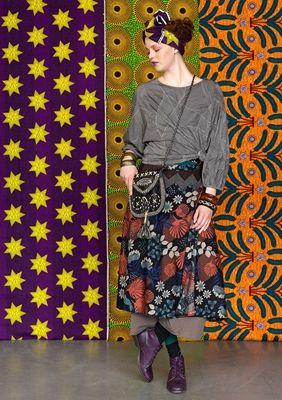 Afrika Mixa Med Monster Gudrun Sjoden Models Mode Kleidung