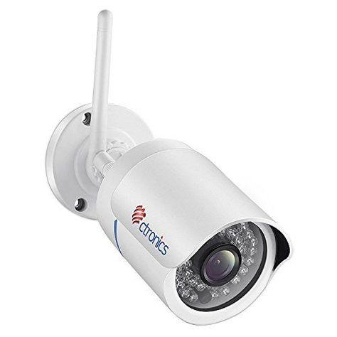 Ctronics Caméra Cylindrique WIFI IP: CAMERA SANS FIL PERFORMANTE: Caméra De  Surveillance IP En WIFI Pour Lu0027intérieur Et Lu0027extérieur,u2026