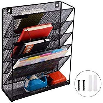 Amazonsmile Legal Size Hanging Cubicle Organizer Office Wall