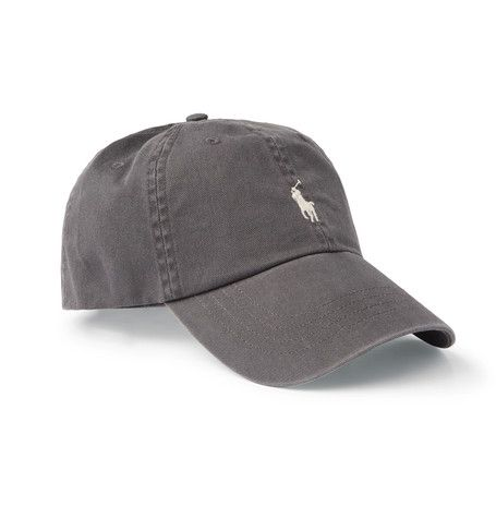 POLO RALPH LAUREN COTTON-TWILL BASEBALL CAP.  poloralphlauren ... 6ab2c75219fa