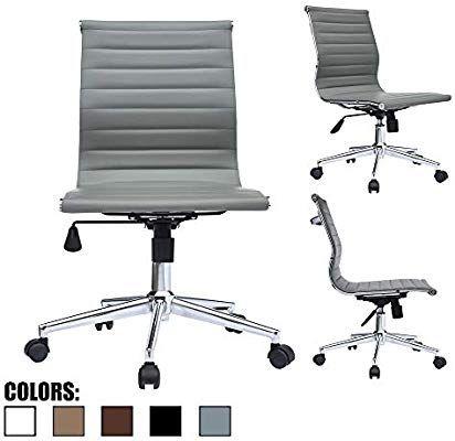 Modern Armless Desk Chair Off 67, Armless Office Chair