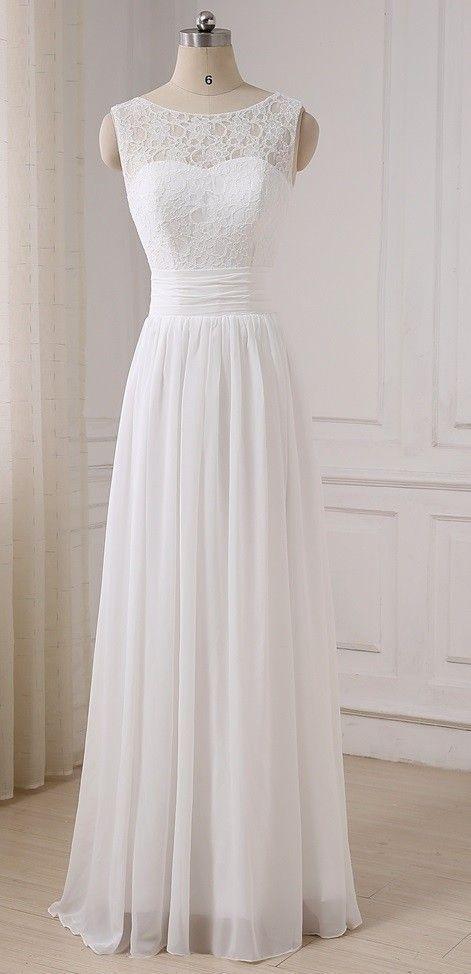robe de mariée bohème dos en v | Boho style