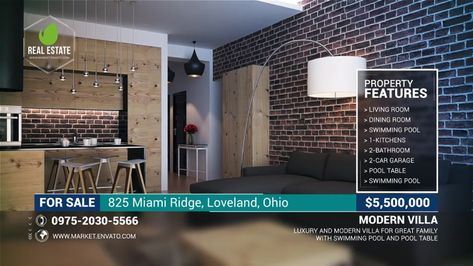 Real Estate Promotional Video - After Effects Template