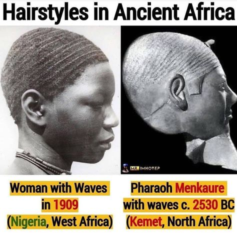 Pharaoh Menkaure is the builder of the pyramid of the Giza plateau. One of the greatest rulers of Kemet. Every single time I see these… Black Hair History, Black History Facts, Strange History, Asian History, African American History, British History, Tudor History, History Education, West Africa