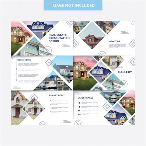 House exterior presentation template des... | Premium Vector #Freepik #vector #infographic #banner #business #abstract