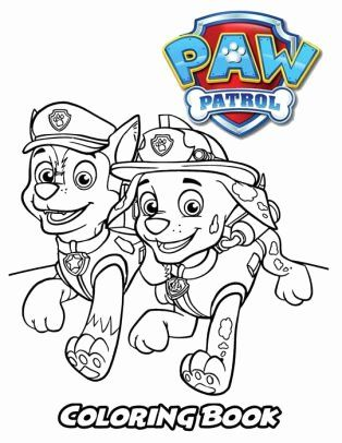 Paw Patrol Fall Coloring Pages Concept