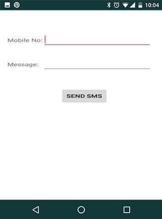 الاكواد اللازمة لإنشاء تطبيق يمكنك من بعت رسالة نصية نحو جهاز آخر برمجة تطبيقات الاندرويد Sms Messages Chart