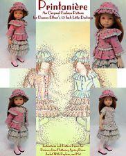 "/""Simplicité/"" Original Fashion Pattern for Dianna Effner/'s 13/"" Little Darlings"