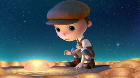 Check out a brand new clip from Pixar's latest short film, titled La Luna. It's absolutely stunning — but be warned, it does spoil the surprise twist as to why these three characters are on a boat in the middle of the night. Directed and written by Enrico Casarosa, this short will officially premiere before Brave on June 22, 2012.