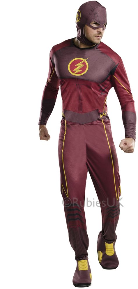 Deluxe The Flash Series Adult Costume