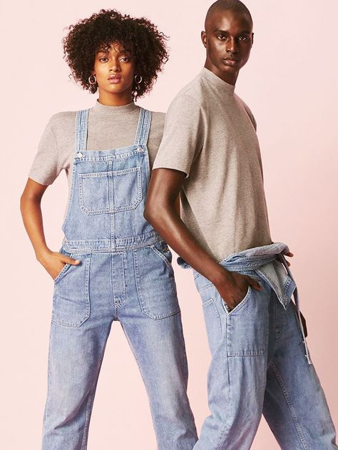H&M will debut a collection of unisex denim this month that will change the way we shop for jeans.
