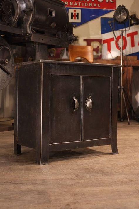 Petit Meuble Industriel 1940 Metal Brut Plus D Info Sur Http Ift Tt 1opl503 Deco Design Ant Petit Meuble Industriel Meubles Industriels Mobilier Design