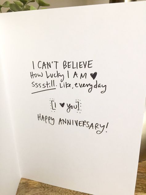 One Year Anniversary Card for her, Paper Anniversary, anniversary Card for boyfriend 365 days, wedding anniversary, First Anniversary – Presents for boyfriend diy Homemade Anniversary Gifts, One Year Anniversary Gifts, 1st Wedding Anniversary, Paper Anniversary, Second Anniversary, Anniversary Scrapbook 1 Year, Anniversary Photos, First Anniversary Quotes, Cute Anniversary Ideas