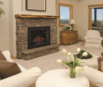 Trim Kits A Finishing Touch To Your Plug In Electric Fireplace