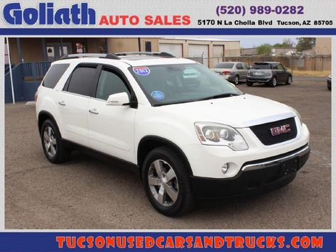 2012 Gmc Acadia See Price Description Used Tucson Car