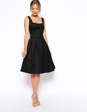 ASOS Debutante Full Midi Dress