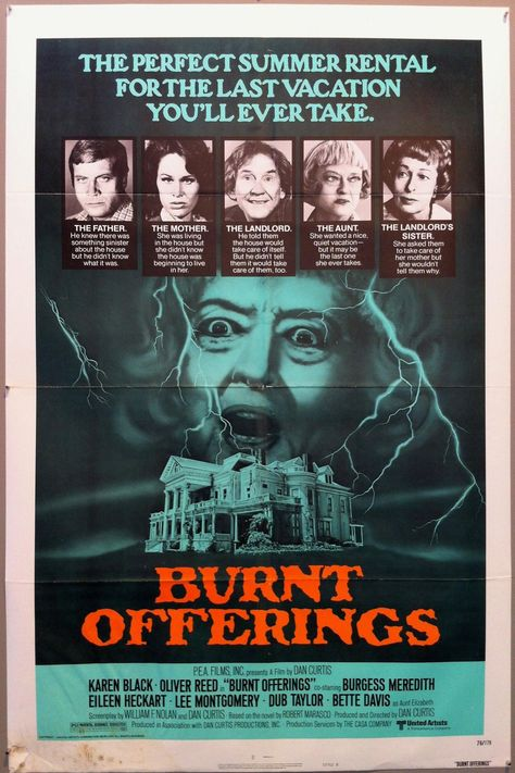 Burnt Offerings - 28x40 / USA, 1976